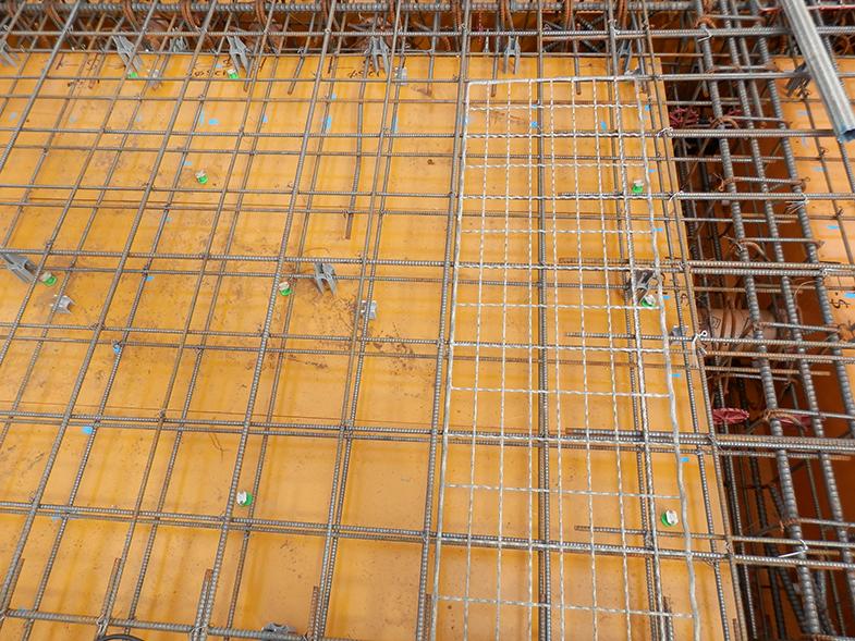 GD明治神宮前・1階床型枠・配筋工事・3