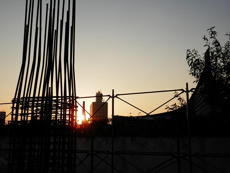 グランデュオ明治神宮前・1階柱配筋検査・画像2